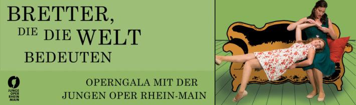 Bretter, die die Welt Bedeuten // Eine Operngala mit der Jungen Oper Rhein-Main